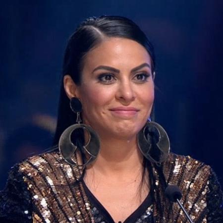 """Alinne Rosa como jurada do """"X Factor Brasil"""" - Reprodução"""