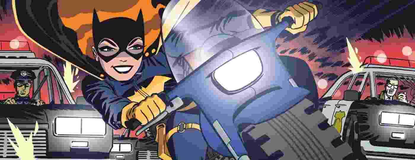 Em sua nova fase, a Batgirl deixou para trás o passado melancólico e passou a viver como uma adolescente moderna - Reprodução
