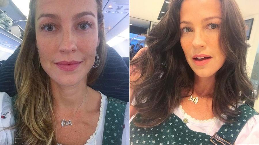 """Luana Piovani abandona os fios loiros e assume fase morena e """"mais madura"""" - Reprodução/Instagram"""