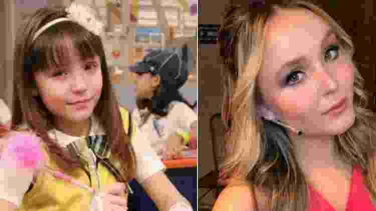Larissa Manoela começou na TV aos 6 anos - Divulgação/SBT/Reprodução/Instagram