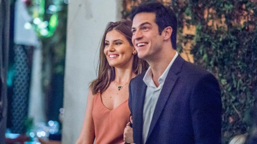 "Luiza (Camila Queiroz) e Eric (Mateus Solano) em ""Pega Pega"" - Mauricio Fidalgo/TV Globo"