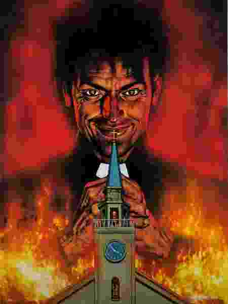 """""""Preacher"""", uma das HQs mais aclamadas da Vertigo, virou até uma série de TV - Reprodução"""