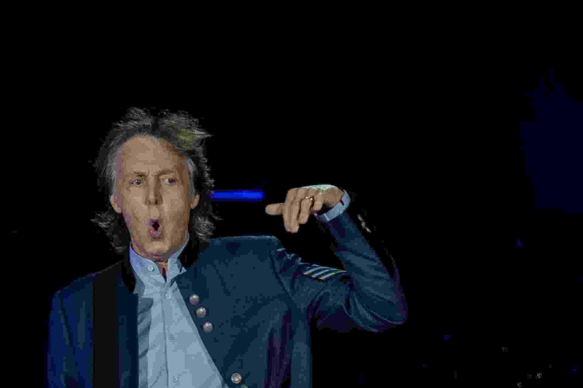 Show do cantor Paul McCartney, no estádio Allianz Parque, em Sao Paulo - Eduardo Anizelli/Folhapress