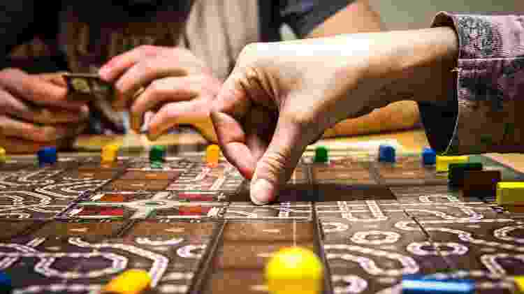 Jogo de tabuleiro - Reprodução - Reprodução