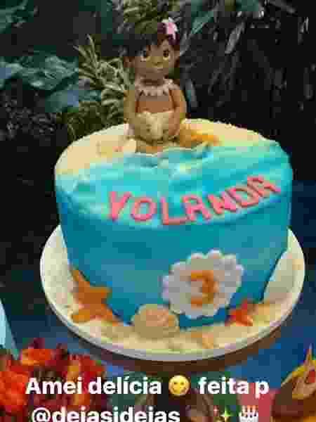 Detalhes da festa de Yolanda - Reprodução/Instagram/julianaalves - Reprodução/Instagram/julianaalves