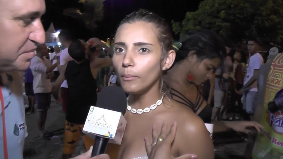 """Laila Duarte, estudante de Medicina que virou meme por uma enhtrevista em """"portunhol"""" - Reprodução/YouTube/Imprensananet"""