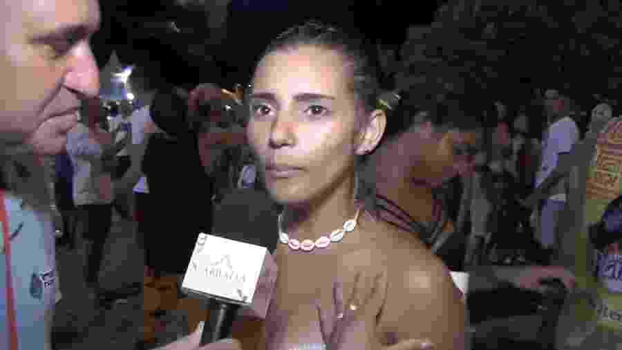 """Laila Duarte, estudante de Medicina que virou meme por uma entrevista em """"portunhol"""" - Reprodução/YouTube/Imprensananet"""