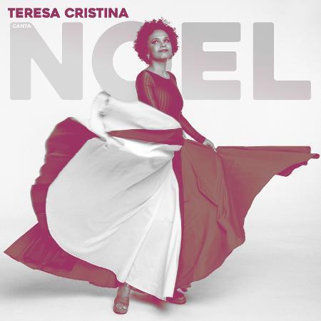 """Capa de """"Teresa canta Noel"""", novo disco de Teresa Cristina - Fernando Young (foto) e Rodrigo Araujo (arte de capa)"""