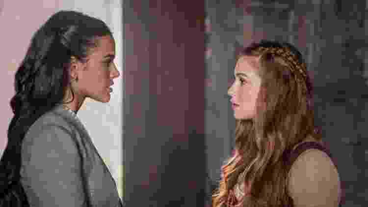 Bruna e Marina são as duas protagonistas da trama de Daniel Adjafre e estrelas jovens da TV Globo - Divulgação/TV Globo  - Divulgação/TV Globo