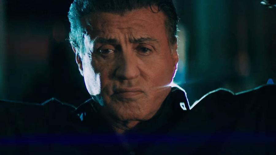 """Sylvester Stallone em cena de """"Rota de Fuga 2"""" - Reprodução"""