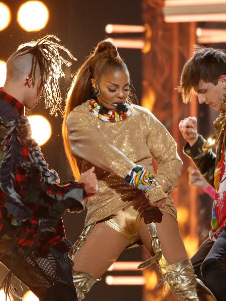 Janet Jackson se apresenta no Billboard Awards - REUTERS/Mario Anzuoni