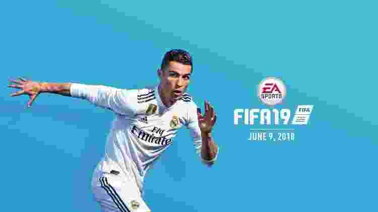 """CR7 será o garoto-propaganda de """"FIFA 19"""" - Divulgação"""
