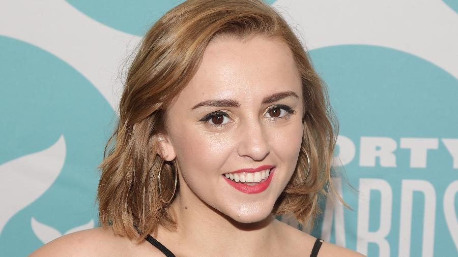 Hannah Witton tem quase 500 mil seguidores em seu canal no Youtube - Getty Images