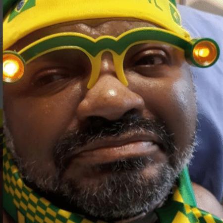 Arlindo Cruz assiste jogo entre Brasil e Costa Rica - Reprodução/Instagram