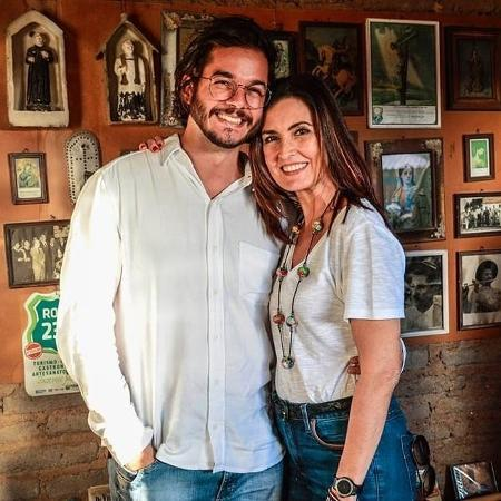Fátima Bernardes e Túlio Gadelha visitam a Casa-Museu Mestre Vitalino, em Caruaru, Pernambuco  - Reprodução/Instagram/@fatinhatulio