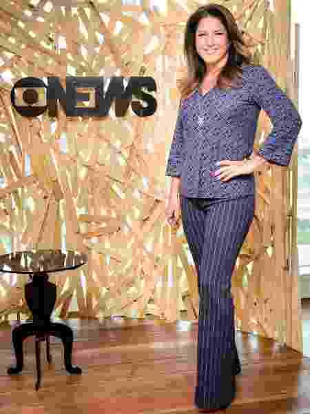 Christiane Pelajo vai apresentar especial com Leilane Neubarth na GloboNews - Ramón Vasconcelos/TV Globo