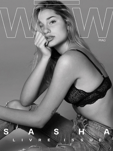 Sasha Meneghel - Reprodução/Instagram WOW Magazine
