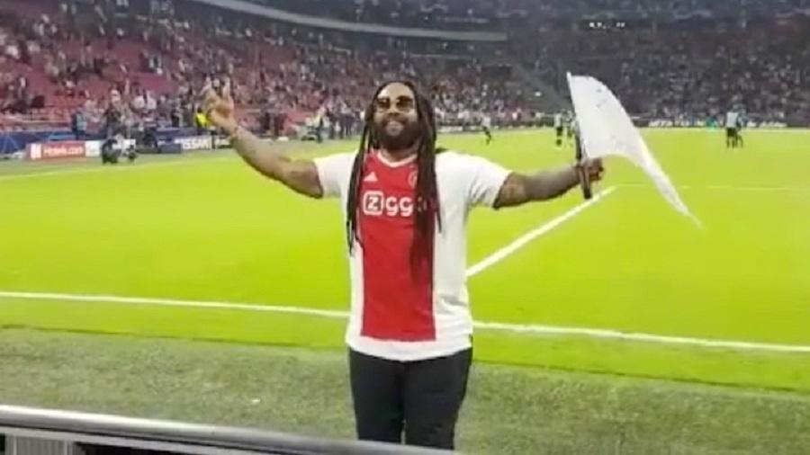 Ky-Mani Marley na Johan Cruyff Arena, casa do Ajax - Reprodução