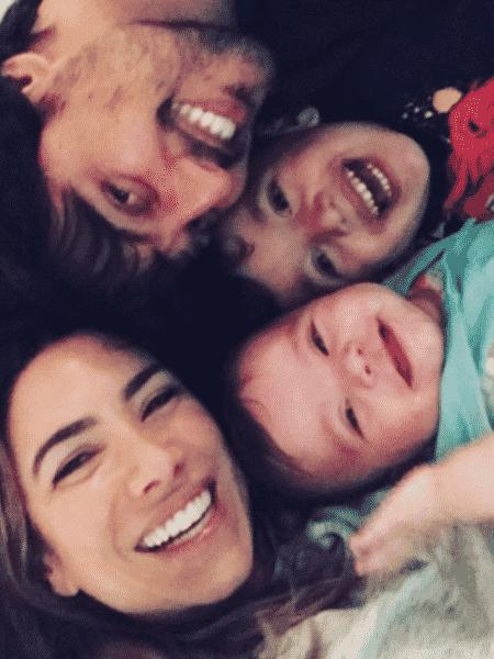 Patricia Abravanel, Fabio Faria, Pedro e Jane - Reprodução/Instagram