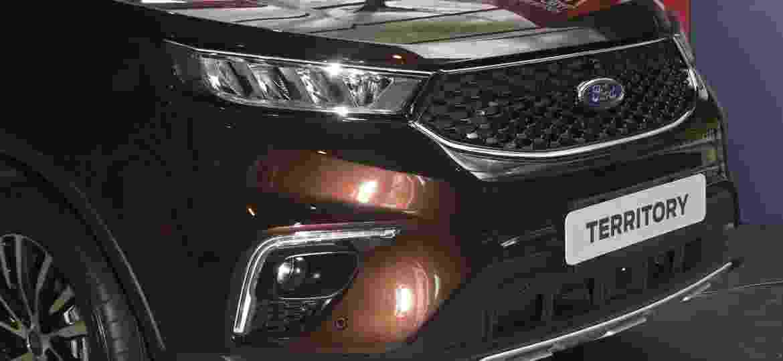 Ford Territory: SUV anti-Compass foi concebido em parceria com chineses da Changan - Murilo Góes/UOL
