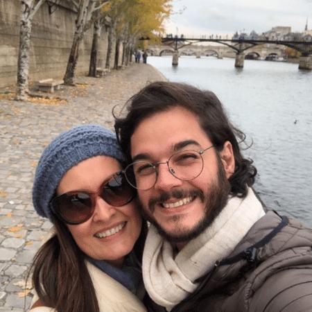 Fátima Bernardes e Túlio Gadêlha em Paris, na França - Reprodução/Instagram