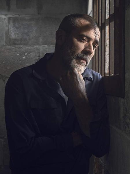 """Jeffrey Dean Morgan como Negan na nona temporada de """"The Walking Dead"""" - Divulgação"""