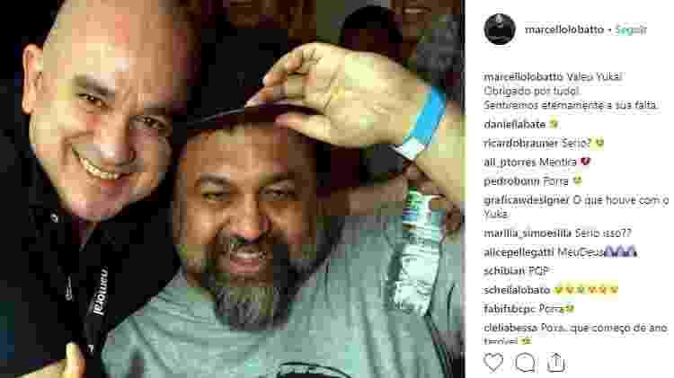 Marcelo Lobatto - Reprodução/Instagram - Reprodução/Instagram