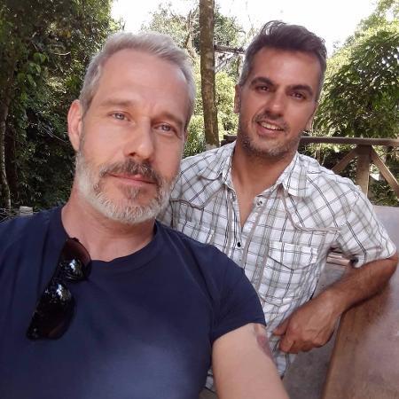 Nico Puig se declara ao marido, Jeff Lattari - Reprodução/Instagram/puignico