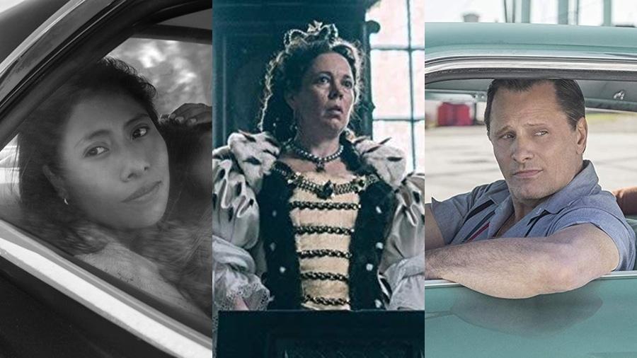"""""""Roma"""", """"A Favorita"""" e """"Green Book - O Guia"""" concorrem ao Oscar 2019  - Divulgação"""