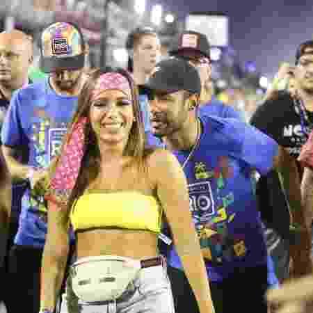 Anitta chega com Neymar à Sapucaí - Marcos Ferreira / Brazil News