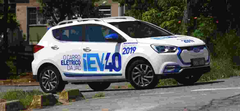 iEV40 é campeão de vendas entre elétricos da JAC com 23 unidades - Murilo Góes/UOL