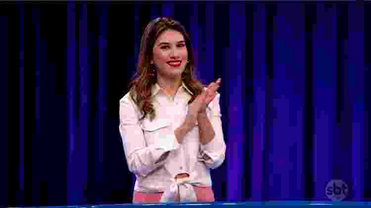 Rebeca Abravanel, filha de Silvio Santos - Reprodução/SBT