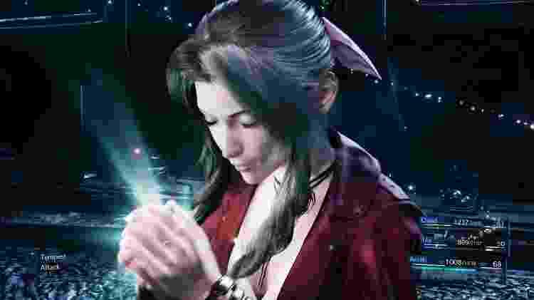 Final Fantasy VII Remake - Aerith - Reprodução - Reprodução
