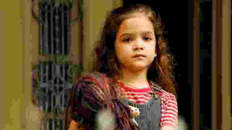 Mel Maia como Rita em Avenida Brasil (2012) - Globo/João Miguel Júnior