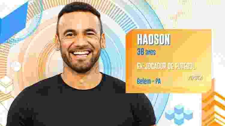 Hadson - Divulgação/TV Globo - Divulgação/TV Globo