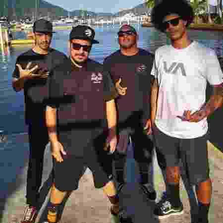 A banda de rock Engrennagem, do litoral norte de São Paul - Reprodução Instagram Engrennagem