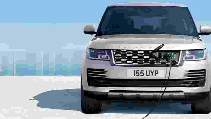 Range Rover híbrido - Divulgação