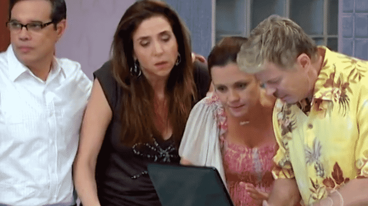 Cena do seriado 'Toma Lá, Dá Cá' - Reprodução/Globo - Reprodução/Globo
