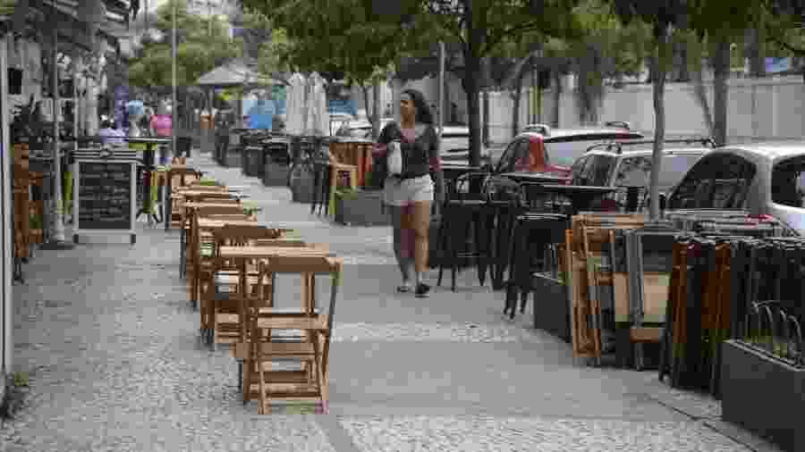 Restaurantes e bares do Rio já conhecem novas regras para funcionamento - Tomaz Silva/Agência Brasil