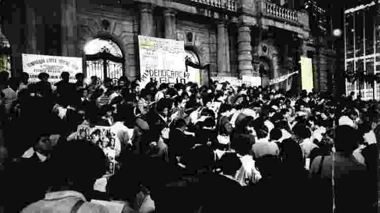 Democracia racial MNU - Folhapress - Folhapress