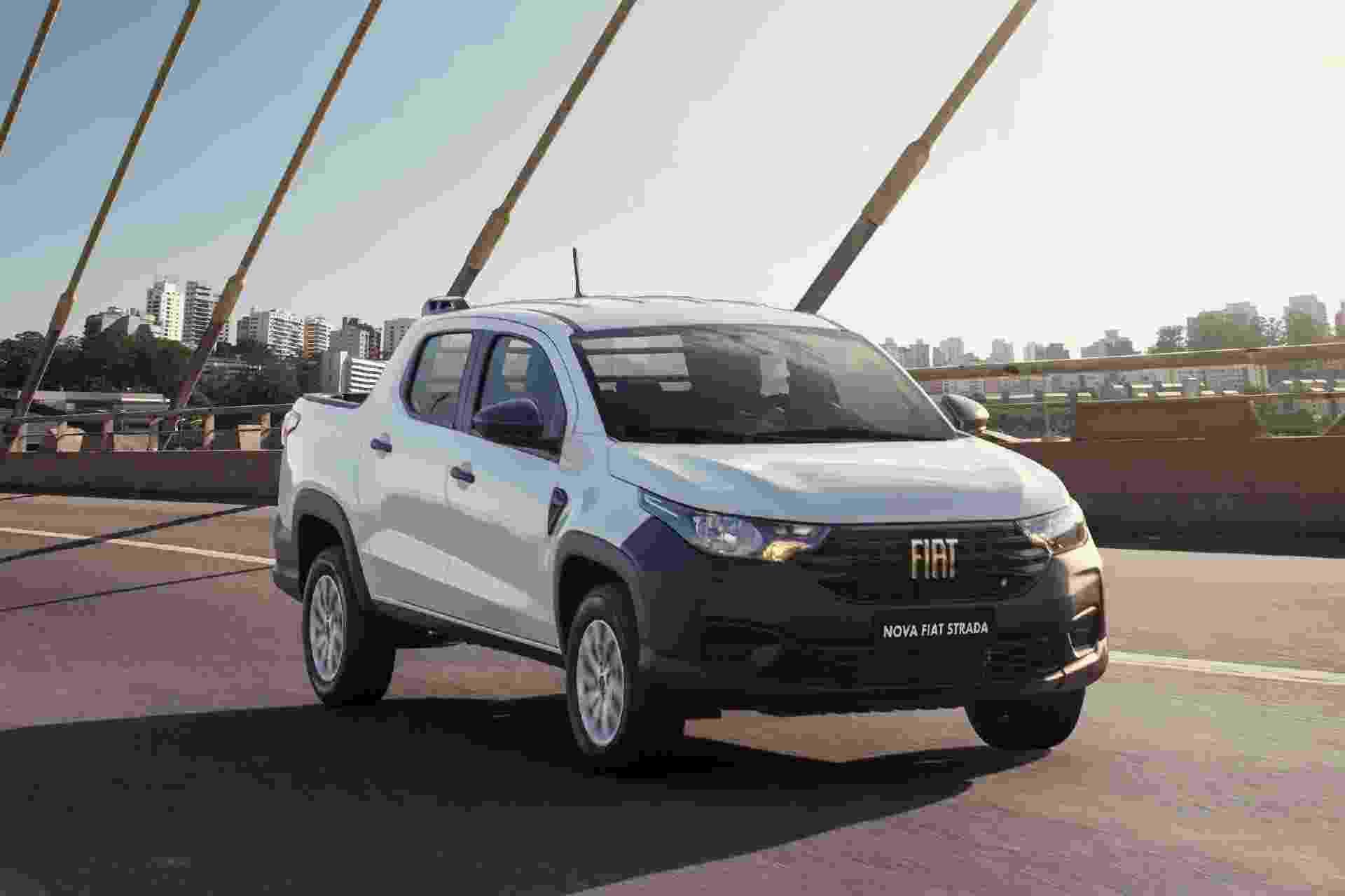 Fiat Strada Endurance Cabine Dupla - Divulgação