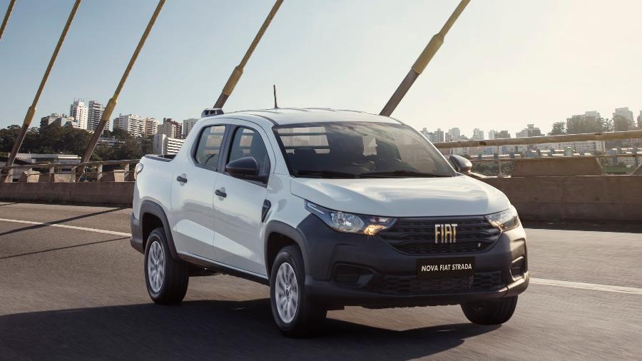 Fiat Strada seminova pode ser encontrada com preços até 3,37% maiores do que correspondente zero, segundo KBB Brasil - Divulgação
