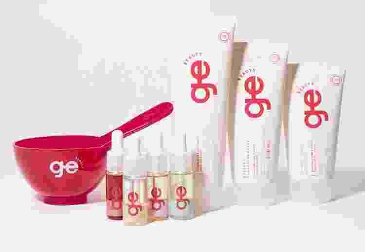 Os produtos da linha GE Beauty, criada por Camila Coutinho - Divulgação - Divulgação