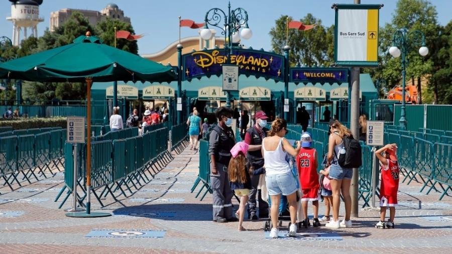Disney, em Paris: reabertura adiada - Getty Images