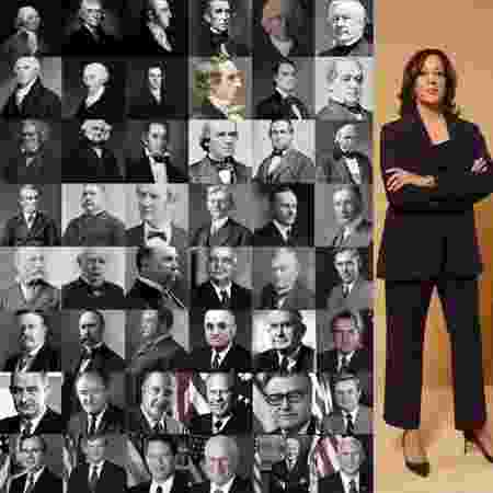 Kamala Harris e os outros vice-presidentes americanos - Reprodução/Twitter