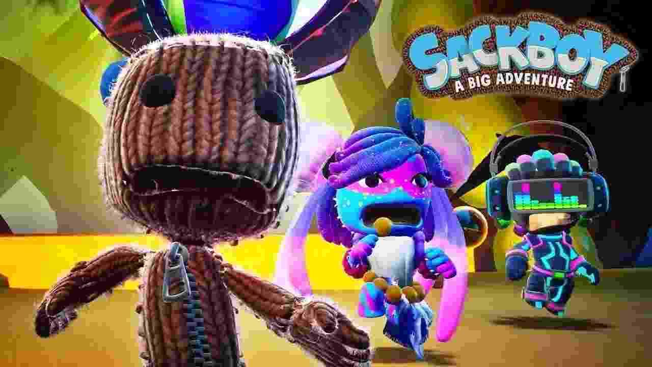 Sackboy: A Big Adventure - Reprodução