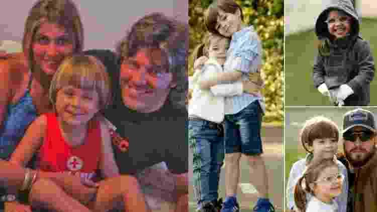 Filhos e netos do ex-BBB Caetano Zonaro - Reprodução/Instagram - Reprodução/Instagram