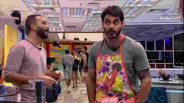 BBB 21: Rodolffo e Gilberto - Reprodução/Globoplay - Reprodução/Globoplay