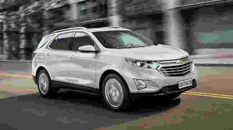 Chevrolet Equinox 2021 - Divulgação - Divulgação