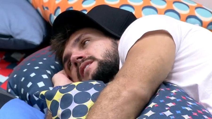 BBB 21: Arthur comenta com Pocah saída de João Luiz do reality show - Reprodução/Globplay
